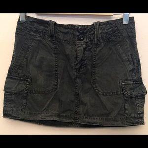 American Eagle Black Mini Skirt